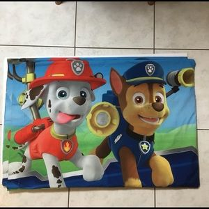 Two Paw Patrol Pillow Cases